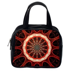 Circle Pattern Classic Handbags (one Side)