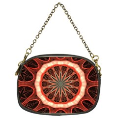 Circle Pattern Chain Purses (one Side)
