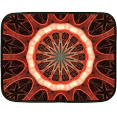 Circle Pattern Fleece Blanket (Mini)