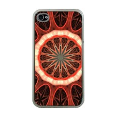 Circle Pattern Apple Iphone 4 Case (clear)