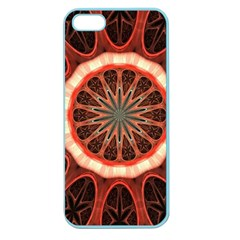 Circle Pattern Apple Seamless iPhone 5 Case (Color)