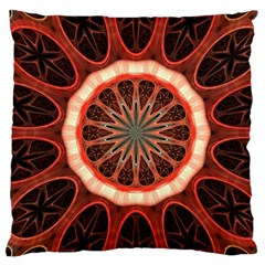 Circle Pattern Standard Flano Cushion Case (two Sides)