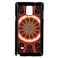 Circle Pattern Samsung Galaxy Note 4 Case (black)