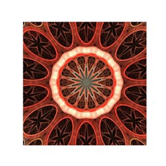 Circle Pattern Small Satin Scarf (square)