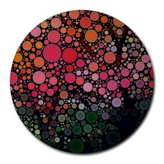 Circle Abstract Round Mousepads
