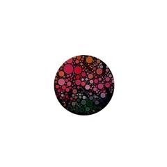 Circle Abstract 1  Mini Magnets