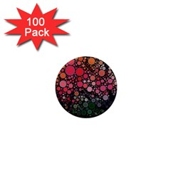 Circle Abstract 1  Mini Magnets (100 pack)