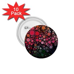 Circle Abstract 1 75  Buttons (10 Pack)