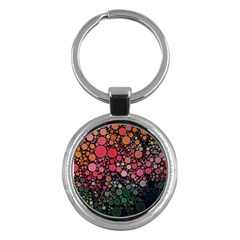 Circle Abstract Key Chains (Round)