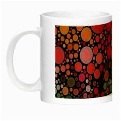 Circle Abstract Night Luminous Mugs