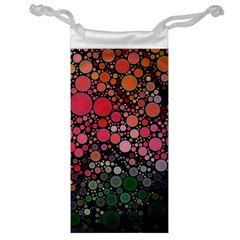 Circle Abstract Jewelry Bag