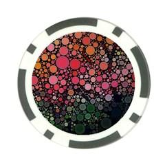 Circle Abstract Poker Chip Card Guard
