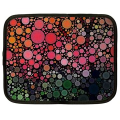 Circle Abstract Netbook Case (large)