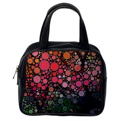 Circle Abstract Classic Handbags (One Side)