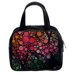 Circle Abstract Classic Handbags (2 Sides)