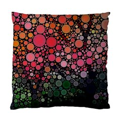 Circle Abstract Standard Cushion Case (one Side)