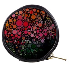 Circle Abstract Mini Makeup Bags