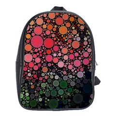 Circle Abstract School Bags(large)