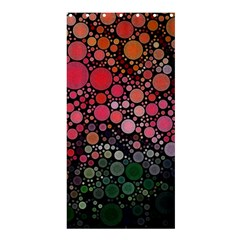 Circle Abstract Shower Curtain 36  x 72  (Stall)