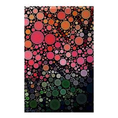 Circle Abstract Shower Curtain 48  X 72  (small)