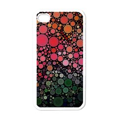 Circle Abstract Apple Iphone 4 Case (white)