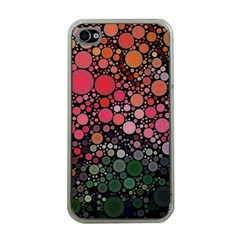 Circle Abstract Apple Iphone 4 Case (clear)