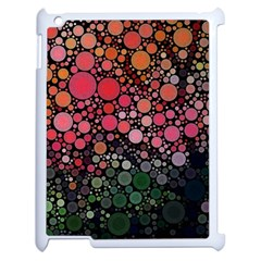 Circle Abstract Apple Ipad 2 Case (white)