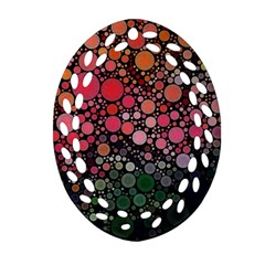 Circle Abstract Ornament (oval Filigree)