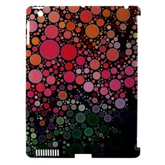 Circle Abstract Apple Ipad 3/4 Hardshell Case (compatible With Smart Cover)
