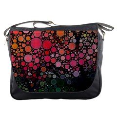 Circle Abstract Messenger Bags