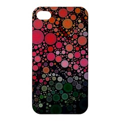 Circle Abstract Apple Iphone 4/4s Premium Hardshell Case