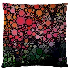 Circle Abstract Large Cushion Case (two Sides)