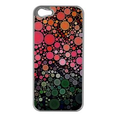 Circle Abstract Apple Iphone 5 Case (silver)
