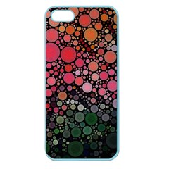 Circle Abstract Apple Seamless Iphone 5 Case (color)