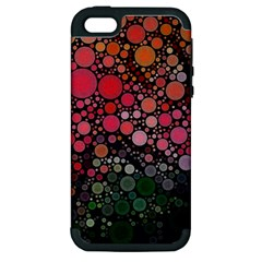 Circle Abstract Apple iPhone 5 Hardshell Case (PC+Silicone)