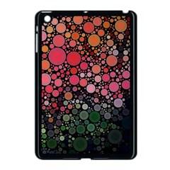 Circle Abstract Apple Ipad Mini Case (black)