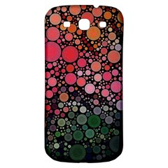 Circle Abstract Samsung Galaxy S3 S Iii Classic Hardshell Back Case