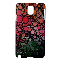 Circle Abstract Samsung Galaxy Note 3 N9005 Hardshell Case