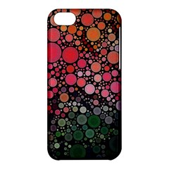 Circle Abstract Apple iPhone 5C Hardshell Case