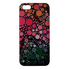 Circle Abstract Iphone 5s/ Se Premium Hardshell Case