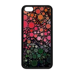 Circle Abstract Apple Iphone 5c Seamless Case (black)