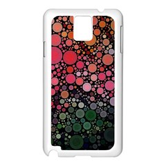 Circle Abstract Samsung Galaxy Note 3 N9005 Case (White)