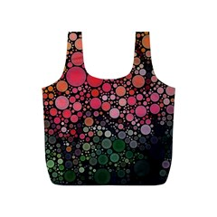 Circle Abstract Full Print Recycle Bags (s)