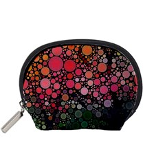 Circle Abstract Accessory Pouches (Small)