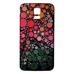 Circle Abstract Samsung Galaxy S5 Back Case (white)