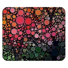 Circle Abstract Double Sided Flano Blanket (small)