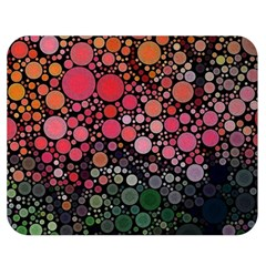 Circle Abstract Double Sided Flano Blanket (medium)