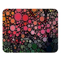 Circle Abstract Double Sided Flano Blanket (large)
