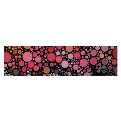 Circle Abstract Satin Scarf (Oblong)