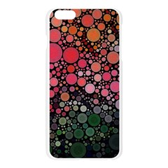 Circle Abstract Apple Seamless iPhone 6 Plus/6S Plus Case (Transparent)